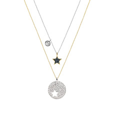 Crystal Wishes 时尚星星造型项链套装 5253997
