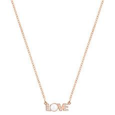ADMIRATION LOVE 创意LOVE字母项链