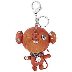 小牛皮立体小猴子钥匙扣 5201632