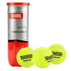 初级训练网球 耐打练习球 3个装