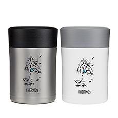 雪豹系列真空不锈钢保温杯 焖烧罐