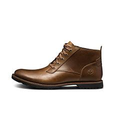 男鞋轻便牛皮中帮商务休闲鞋|A1N2T