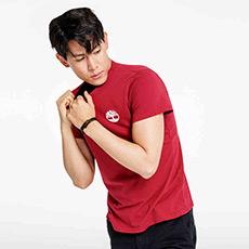 男装18春夏新款户外印花短袖T恤|A1N3B