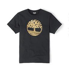 男装18新款金色树标短袖T恤衫|A1N55