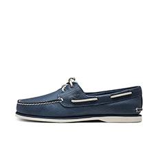 男鞋18春夏新款舒适轻牛皮经典手工船鞋|A1OTM