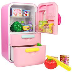 切切乐冰箱组仿真厨房过家家套装