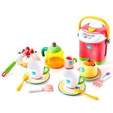 悠闲茶点组益智动手儿童过家家厨房玩具
