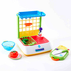 快乐洗菜组益智动手儿童过家家厨房玩具