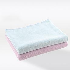 日本进口超吸水素色干发巾