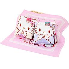 Hello Kitty宝石印花方巾