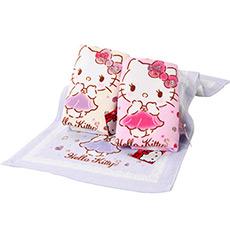 Hello Kitty宝石印花面巾