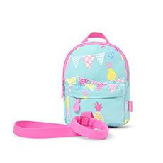 幼儿防走失迷你背包 可拆卸走失带 1-4岁适用