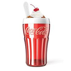 可口可乐限量合作款冰沙奶昔杯
