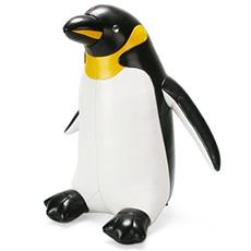 手工皮质玩偶 非洲企鹅纸镇